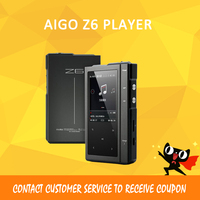 ASD Moonlight AIGO Z6 Hard DSD MP3 Player CS4398 DAC Hifi Music Player Dual Core CPU With 32G TF Card Case Max128GB