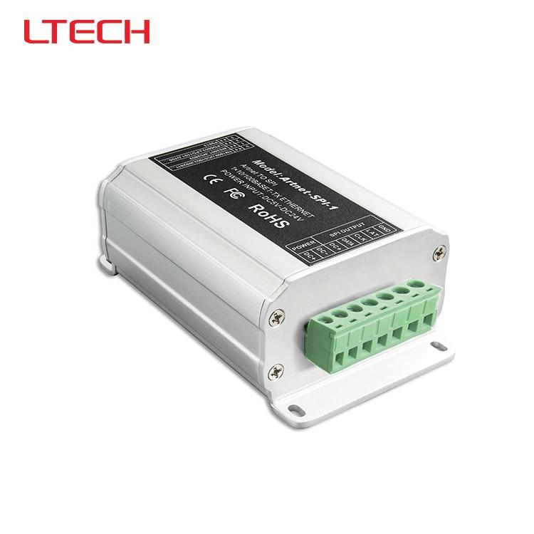Convertisseur artnet-spi; convertir le paquet de données réseau Artnet en signal numérique SPI (TTL) pour ws2801 ws2811 ws2812b ucs1903