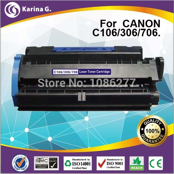 compatible toner cartridge for canon CRG106 toner  CRG306 toner  CRG706 toner 100% BRAND NEW ,5000 page yield  free shipping