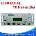 FMUSER CZH518A-200W 200 Вт Аналоговый ТВ Передатчик Для Телеканала 4U Rack
