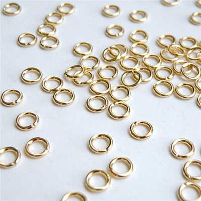 STENYA 4,5, 7mm pierścień dzielony Jump pierścionki Tassel kolczyki Brinco zapięcie jubilerskie Making koraliki Link Spacer haki koniec drut metalowy pętli Diy
