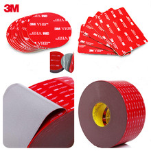 10PCS Die Cut Shape Round 3M VHB 5608 Double Sided Acrylic Foam Adhesive Tape Heavy Duty Mounting Tape Choose Wide цена и фото