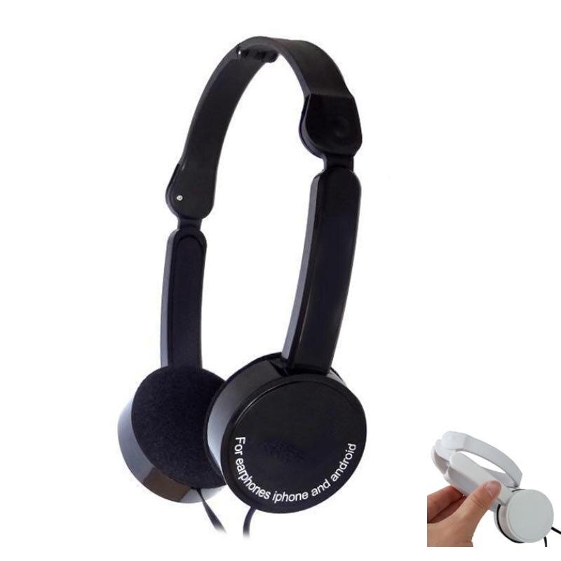 BBGear Pliable Casque 3.5mm Filaire Écouteurs avec Micro Pliage Casque De Jeu Casque pour Téléphone Ordinateur MP3 Lecteur de Musique