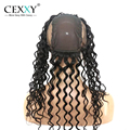 Cexxy Hair New Arrival 360 Lace Frontal With Cap Natural Wave Brazilian 360 Virgin Hair