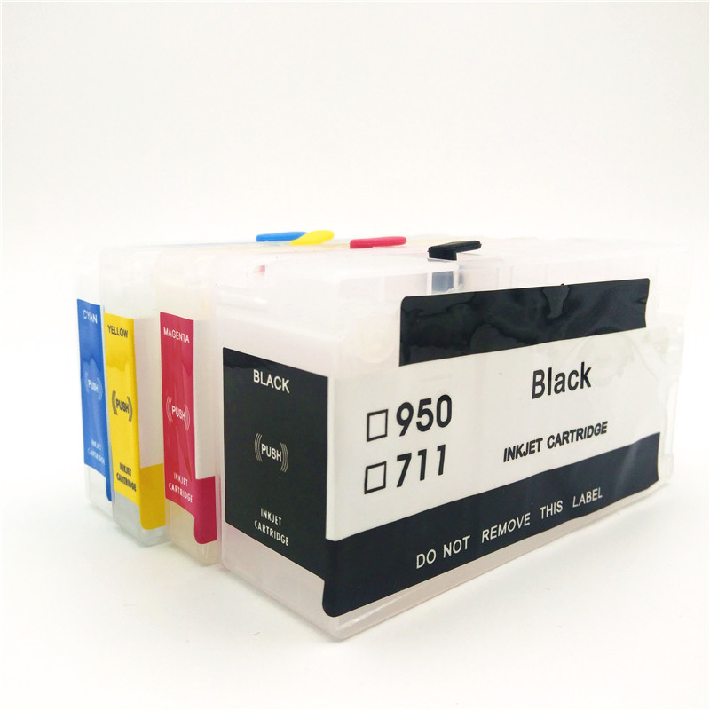 einkshop <font><b>952xl</b></font> Refillable Ink Cartridge With ARC Chip Replacement For HP 952 xl Officejet Pro 8710 8715 8720 8730 8740 8210 7740 image