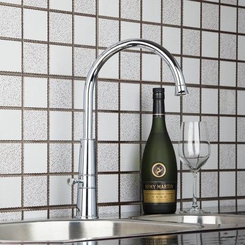 Single Hole Handle Deck Mount Swivel 360 Chrome 92453 Basin Sink Water Tap Vessel Lavatory Kitchen