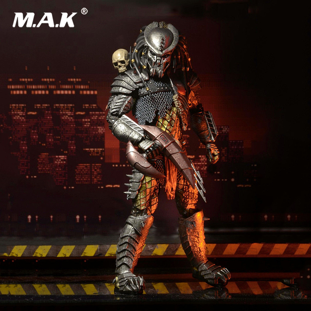 Toys for Boys 7inches Aliens vs Predator Concrete Jungle Deluxe Edition PVC Action Figure Model Toys Doll Gift for Collection