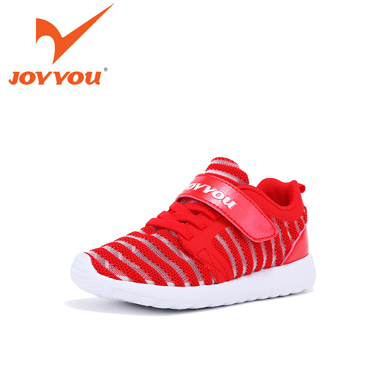JOYYOU Brand Kids Shoes Boys Girls School Sneakers Children Teenage Hook Footwear Baby Todler Mesh  For child Fashion Shoes hobibear classic sport kids shoes girls school sneakers fashion active shoes for boys trainers all season 26 37