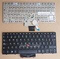 Нью-клавиатура для Lenovo IBM Thinkpad X100 X100E X120 X120E ноутбук испанский язык черный с рамкой с указатель мыши