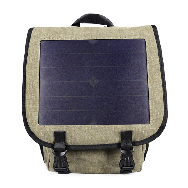 Multi-functional Solar Powered Charging Backpack