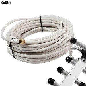 Image 3 - KuWFi Antena 無線 Lan アンテナ 4 4G LTE アンテナ sma オス無線 lan 指向性アンテナ 20dBi 4 3g ルータアンテナ 2500  2700 ルータ用