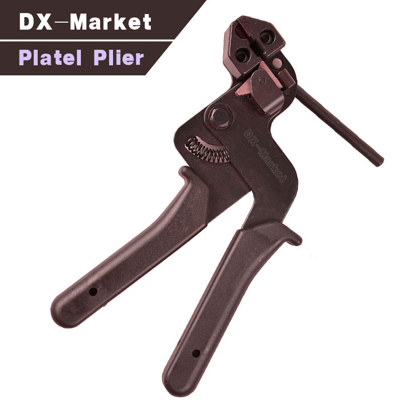 stainless steel cable Ties plier high quality fasten tool , locking combination pliers   steel tie fasten tool cable tie fasten tensioning tool for stainless steel ls 600r 2 4 9mm stainless steel cable tie tool