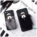 New Karlito Soft TPU Case Lafayette Phone Cover for Apple iphone 7 7 Plus 6 6s 6plus Mr KarlLagerfeld Fur Skin Free Shipping