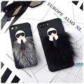Nueva karlito lafayette tpu case cubierta del teléfono para apple iphone 7 7 plus 6 6 s 6 plus mr karllagerfeld peletería envío gratis