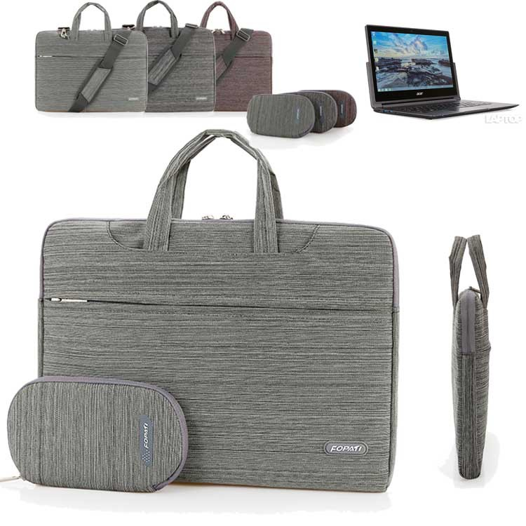 14'' Laptop Shoulder Bag, Suit Portable Carrying Case Messenger Sleeve Handbag for Acer 13.3