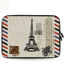"Hot Paris Tower Laptop Bag Case Sleeve For 9.7"" 10.1"" 11.6"" 12"" 13.3"" 14"" 15"" 15.6"" HP Dell Sony IBM Acer Alienware Toshiba(China)"