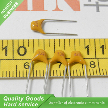 Free Shipping 100PCS monolithic capacitors 334 Free Shipping.33UF (330NF)