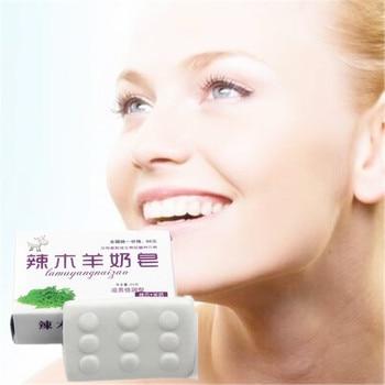 100% Pure Goats' milk Soap for Whitening Skin Aging Gluta Anti Body Beauty Lightening Jellys Skin Whitening Soap Anti Dark Spots недорого