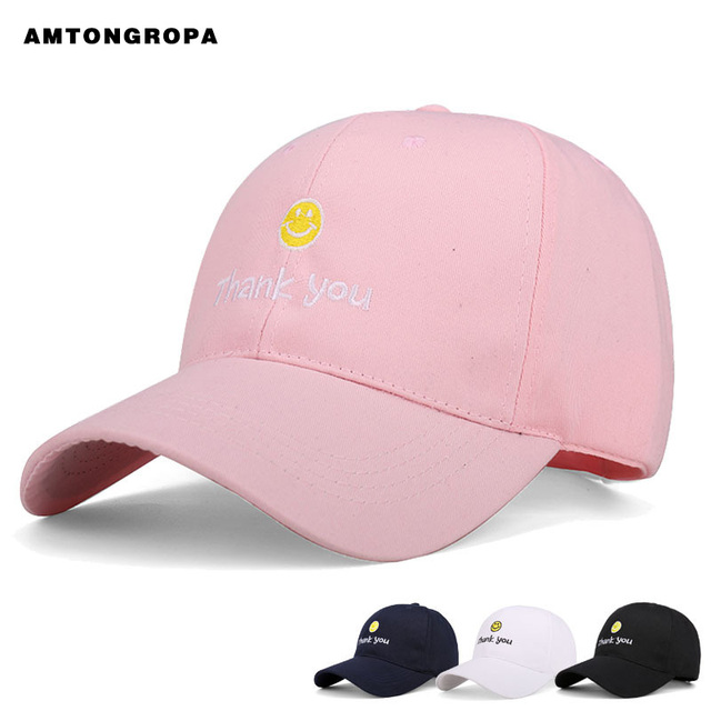 d327fbcebae New Korean fashion men and women leisure caps baseball hat embroidered cotton  sun shade duck tongue hat snapback cap