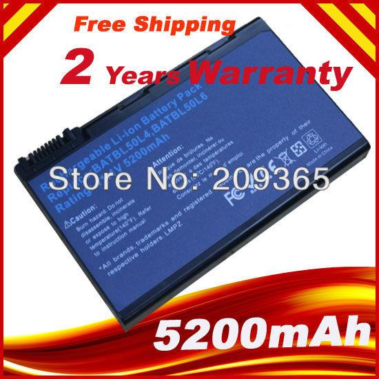 Batería del ordenador portátil para Acer Aspire 3100 3102 3650 3690 5100 5610 5610Z 5630 5650 5680 9110