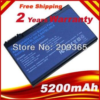 Batería de ordenador portátil para Acer Aspire 3100 3102 3650 3690 5100...
