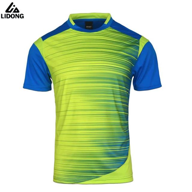 33a1329f4 2017 New Soccer Jerseys Men Survetement Football Kits Thai Quality Team  Training Shirts Blank Sportswear Custom Name And Number