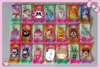 50pcs Lot Anti Knock Silicone 3D Cartoon Stitch Universal Phone Colorful Frame Bumper For Iphone4 5