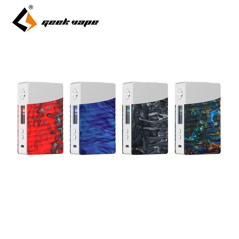 Nuevo Original Geekvape Nova caja Mod 200 W E-cig Mod alimentado por AS200 Chipset Zeus Dual RTA mucho mejor que arrastrar Mod