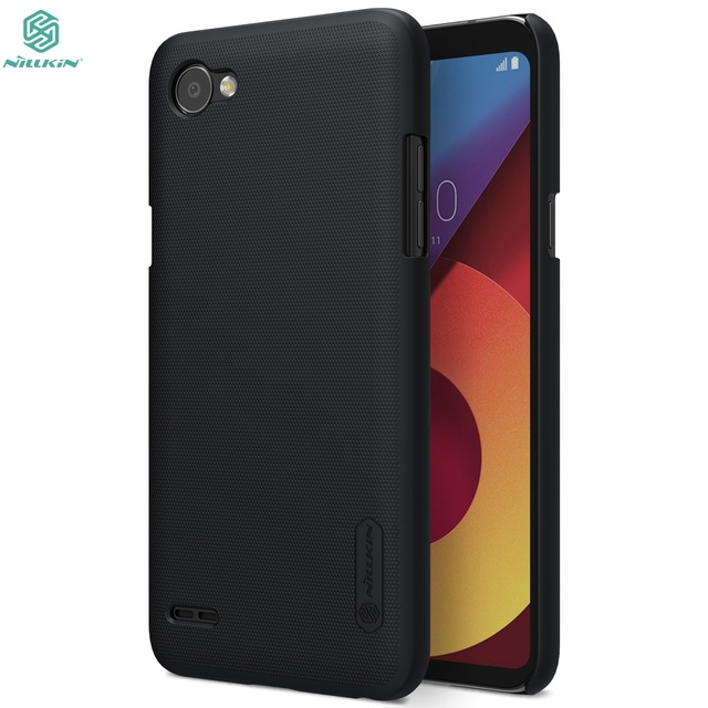 new styles 12523 648ee US $7.19 5% OFF|Aliexpress.com : Buy 1Case For LG Q6a/Q6/Q6 PLUS/Q6 Prime  cover NILLKIN Super Frosted Shield Back Cover with Free Screen Protector  For ...