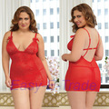 Big Size Lingerie Women Nightwear Plus Size Lingerie Sexy Costume Plus Size Nightgowns Sleepwear Pyjamas Women Underwear 3XL 4XL