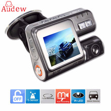 HD 1080 P 2.0 Pulgadas Coche DVR Dash Cámara de Vídeo Registrator con g-sensor IR Night Vision Video Recorder DVR USB 170 grados