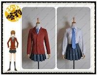 Tonari no Kaibutsu kun Shizuku Mizutani High School Girl Uniform Cosplay Costume
