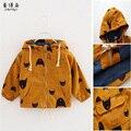 2016 Spring Autumn Boys Jacket  Cotton Manteau Enfant Garcon Cartoon Boys Hoodies Zipper Kids Outerwear Boys Clothes