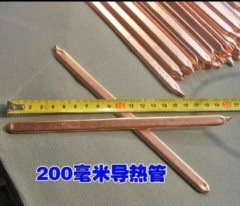 Free ship 10pcs/lot 20cm DIY brass copper tube,laptop computer radiator pipe brass Thermal conductivity pure copper tube