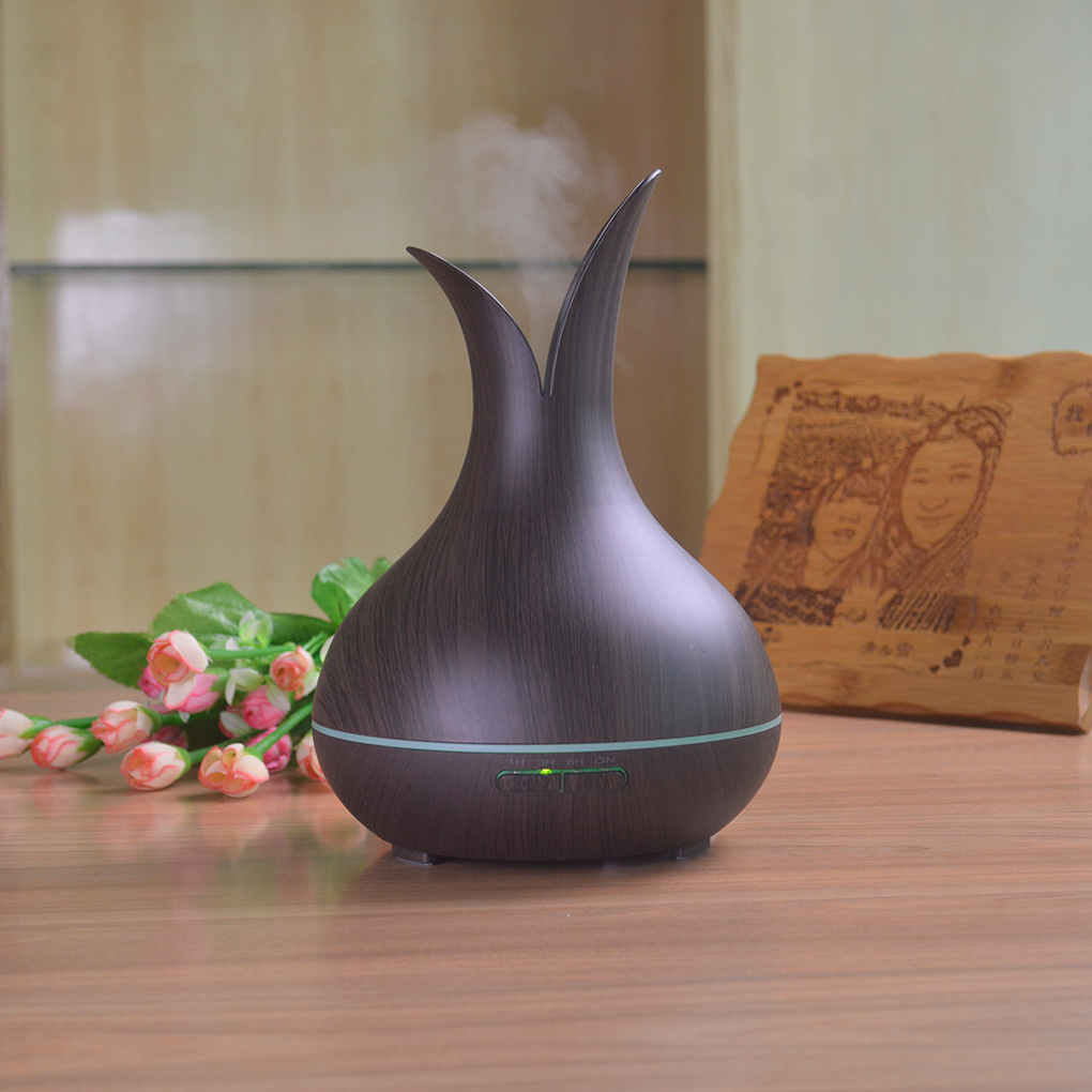 Fragrance Essential Oil Incense Burner Flower Vase Cool Mist Humidifier Aromatherapy Diffuser Purifier