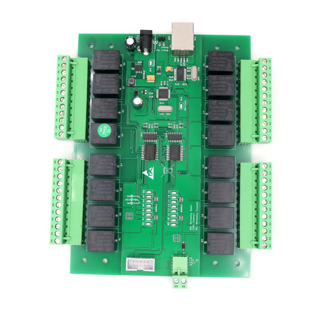 10A TCP IP Network Relay Module HTTP UDP WEBAPI Android Phone