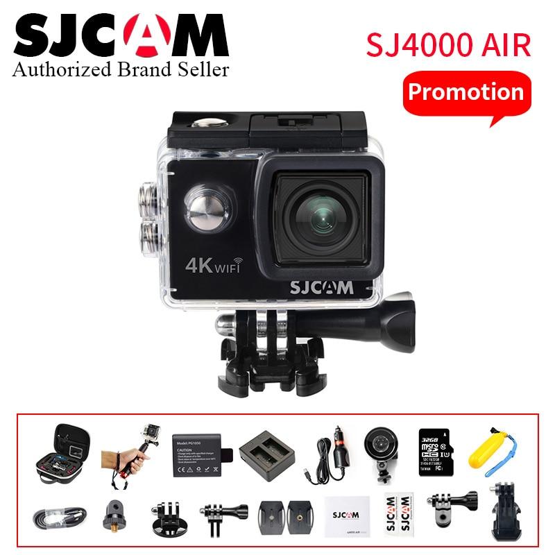 Hot SJCAM SJ4000 AIR 4 k WIFI caméra d'action Full HD Allwinner Chipset Sport DV 2.0