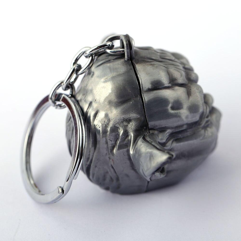 MS Jewelry Star Wars Key Chain Master Yoda Key Rings For Gift Chaveiro Car Keychain Movie Key Holder Souvenir