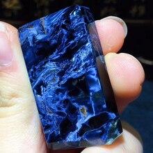 Natural Blue Pietersite Pendant Namibia Gemstone Peter Stone Necklace Jewelry Ornament