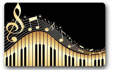 Note De Musique Tapis Achetez Des Lots Petit Prix