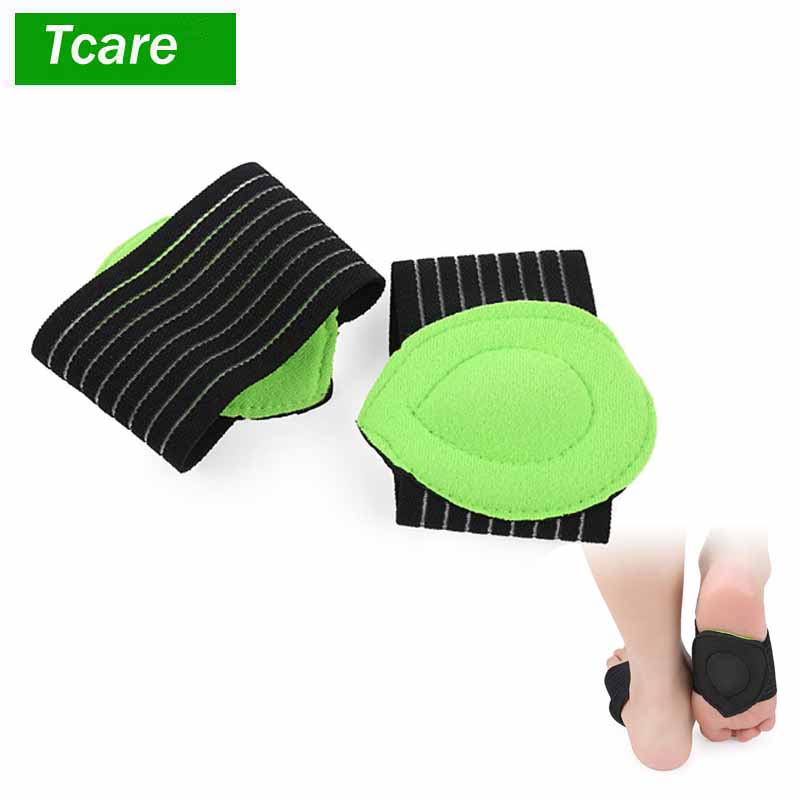 1Pair Foot Care Correct Flat Foot Arch Support Orthopedic Insoles Women Men Half Shoe In ...