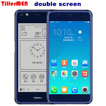 Double-sided double screen mobile phone LTE FDD 5.5″Color 4G RAM 64G ROM 2.5D curved fingerprint 5.2 ink screen Hisense A2 Pro