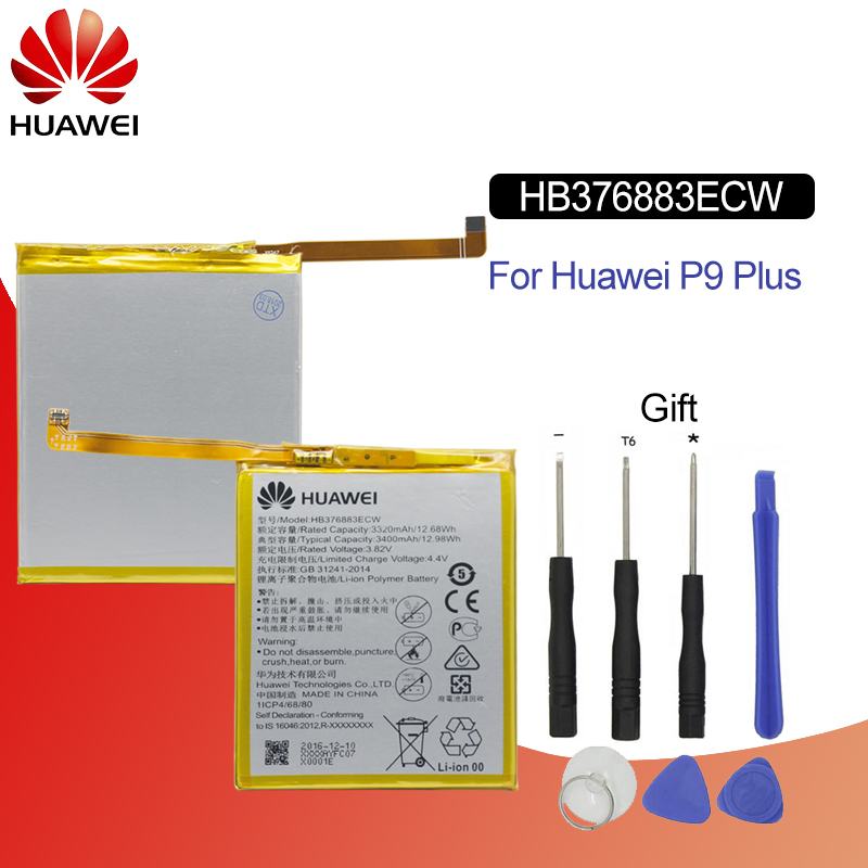 Tools Buy Now Cellphones & Telecommunications The Cheapest Price Hb376883ecw Hua Wei Original Replacement Phone Battery For Huawei P9 Plus Vie-al10 Rechargeable Li-ion Battery 3400mah Mobile Phone Parts