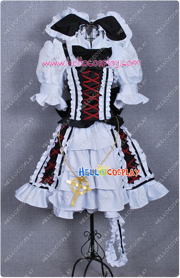 Touhou Project Cosplay Watatsuki no Yorihime Gothic Lolita Dress H008