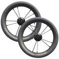 Ультралегкие 12 дюймовые диски  Углеродные колеса  30 мм  ширина 25 мм  глубина  клинчер BMX  полностью Углеродные колеса для детского велосипеда