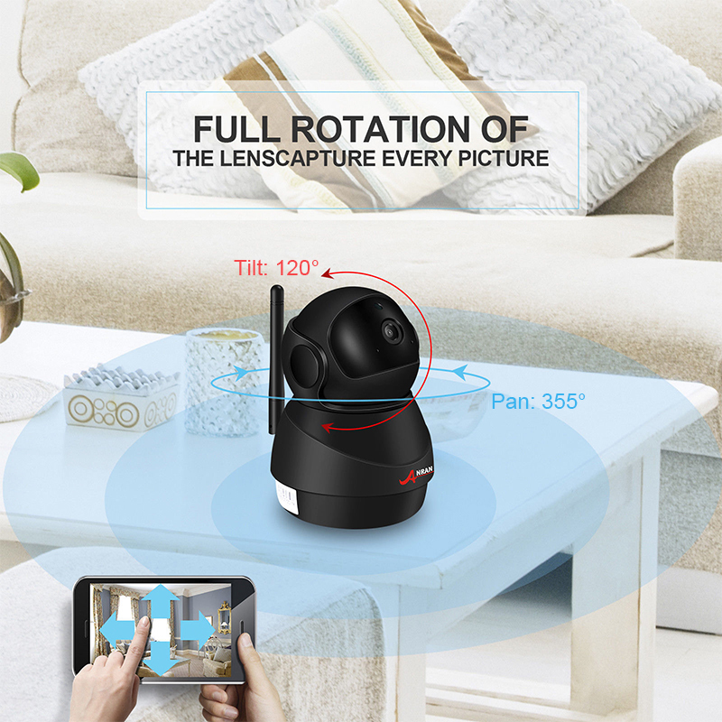 ANRAN 1080P Wifi Camera Home Video Surveillance Camera CCTV Night Vision Security Camera Two Way Audio Baby Monitor 1920 1080 in Surveillance Cameras from Security Protection