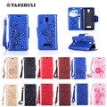 Мода Алмаз Одуванчик Бабочка Шаблон PU Кожаный Бумажник Flip Case Для Для Lenovo A2010 A2020 Крышка Мобильного Телефона Сумки