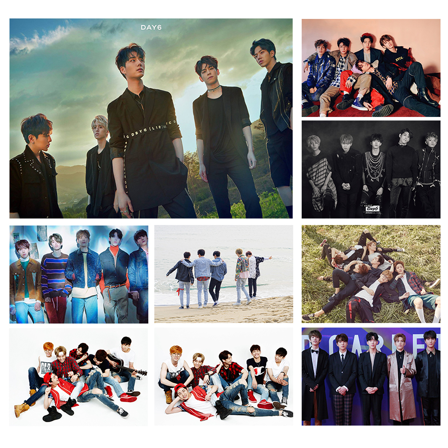 DAY6 Posters Jae,Sung Jin,Jun Hyeok,Young K,Won Pil,Do