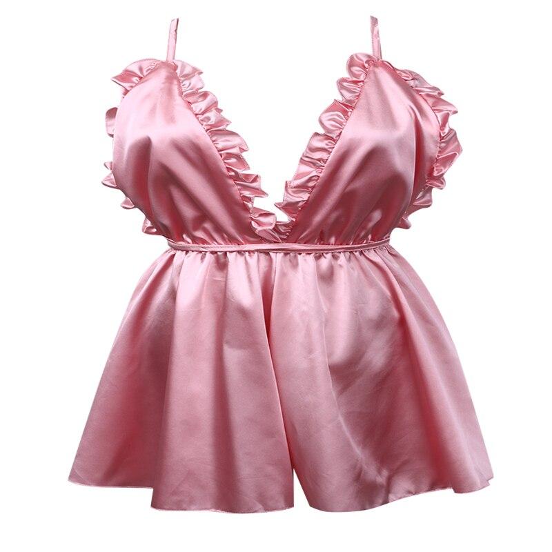 3-Piece Pink Babydoll Nightdress knickers and wrap Set BNWT Size 16