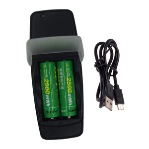 Image 2 - 2 slots Smart USB Battery Charger for Rechargeable 1.6V NI ZN AA AAA tip battery intelligent charger with LED display